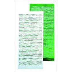 LCR51.8381 / Kaarten borduur kit groen
