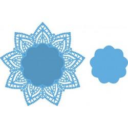 6410-0334 / clear stamp bloem