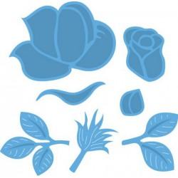 6410-0335 / clear stamp bloem