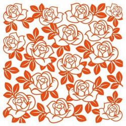6410-0336 / clear stamp bloem