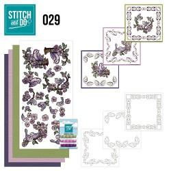 VIND009 / Vintasia Dies Square with grid
