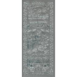 3-D Stitching Sheets 13 Bloemen